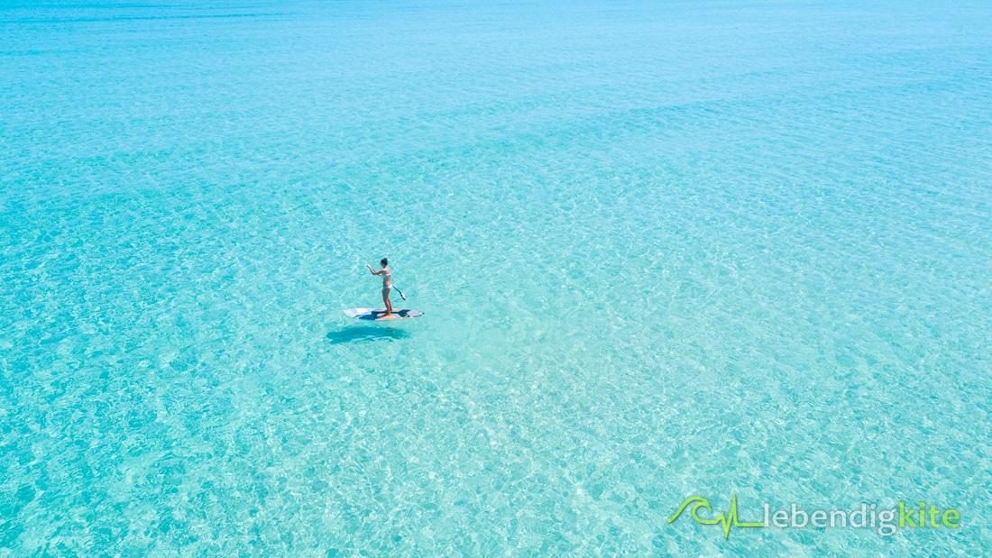 SUP Stand Up Paddle Boarding Kitesafari Australien
