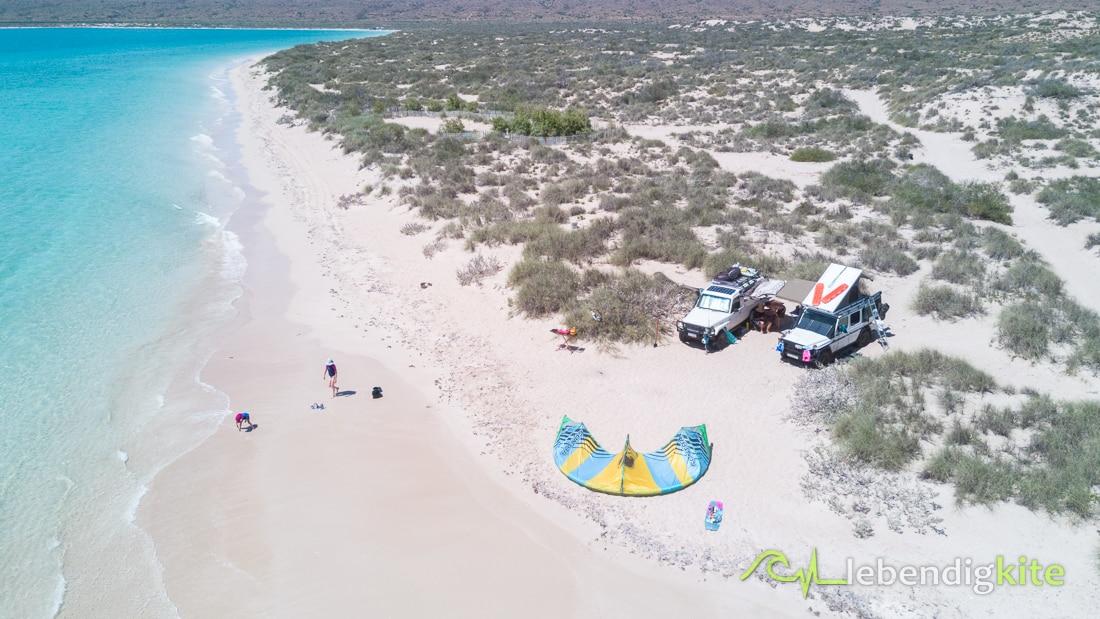Camping Kiteurlaub Australien