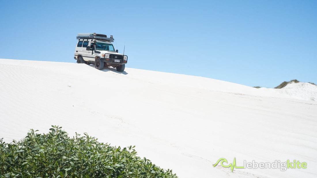 4WD 4x4 Dünen fahren Lancelin Offroad Sand