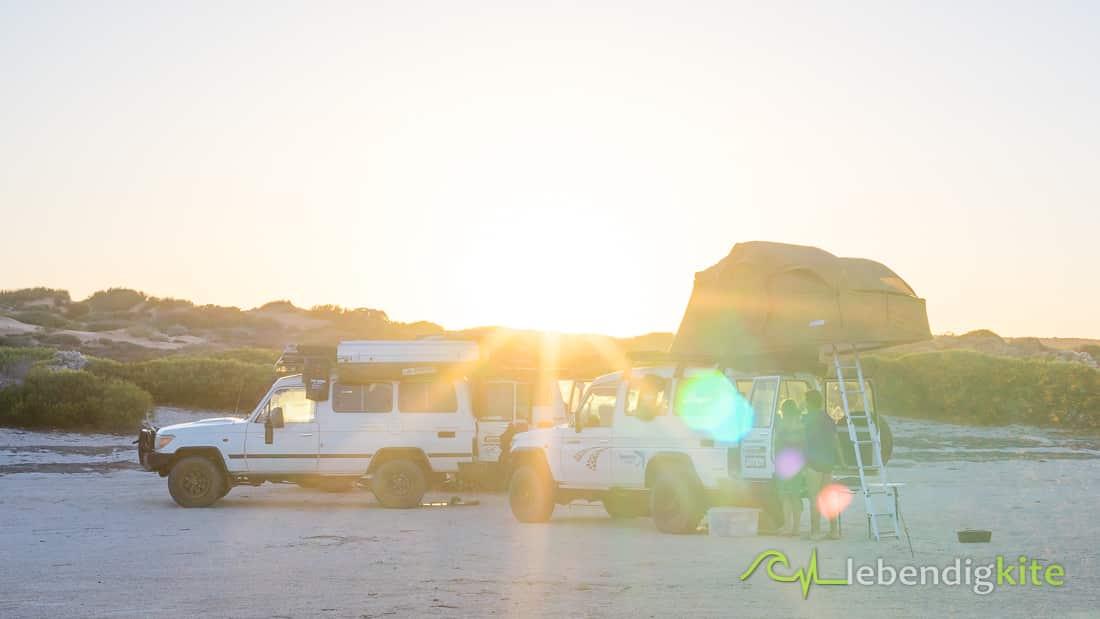 Camping Zelten Australien Outback