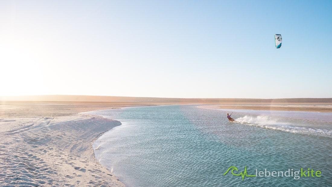 Flachwasser Kitespot Australien Perth