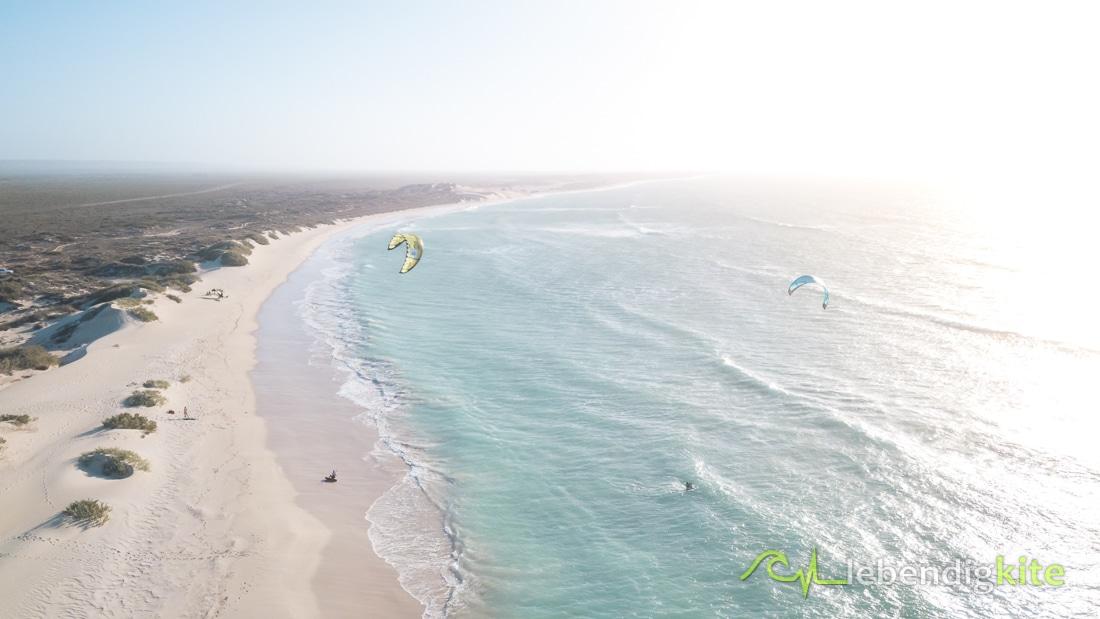 Strände Exmouth Westaustralien Kitesurfen