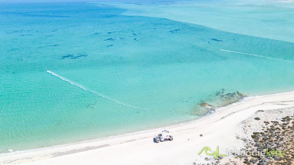schönsten Kitespots Australien Westküste