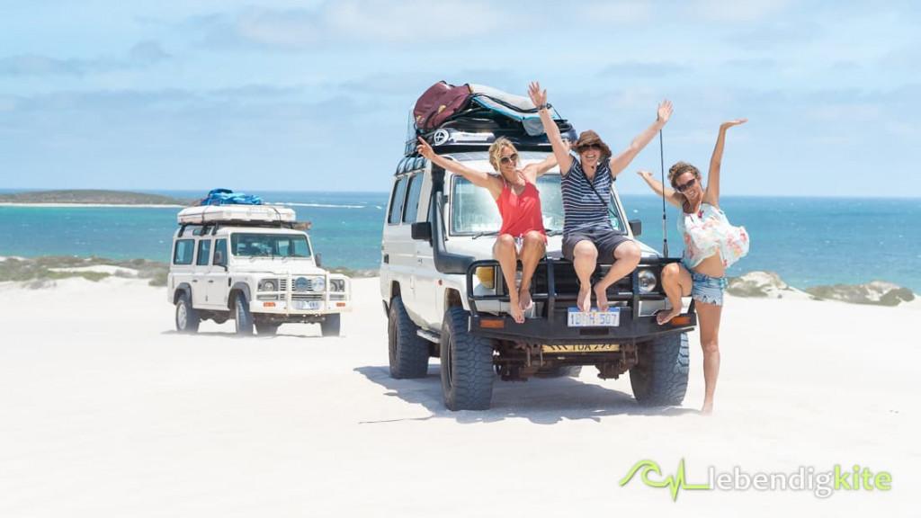 Dünen Lancelin 4WD fahren im Sand