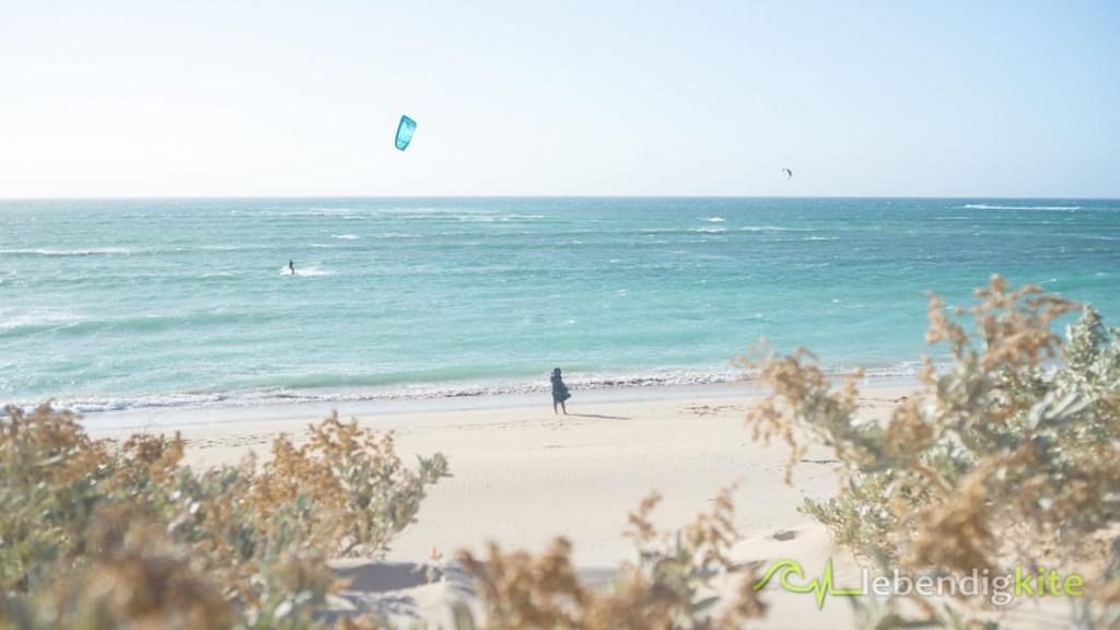 Kitesurfen Exmouth Ningaloo Wellenspot
