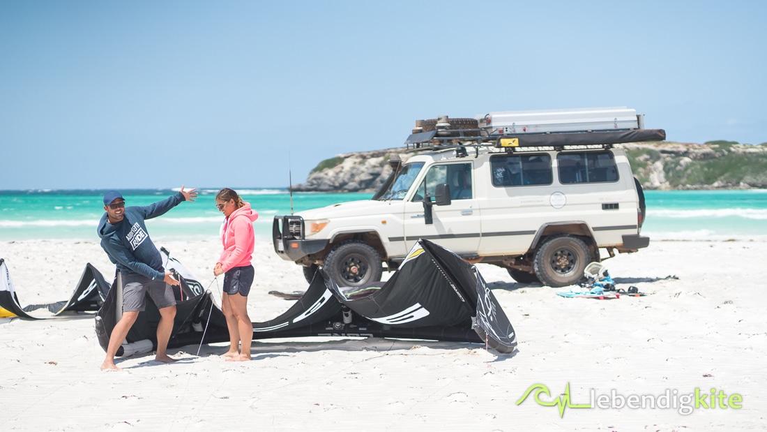 Offroad Kitesafari Australien