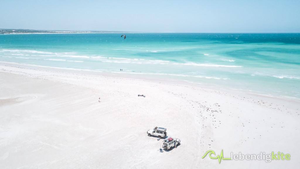Kitesafari Kite Trip Australien